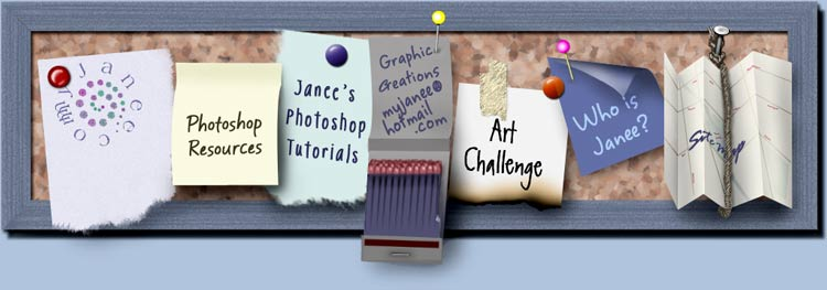 myJanee.com Photoshop Resources
