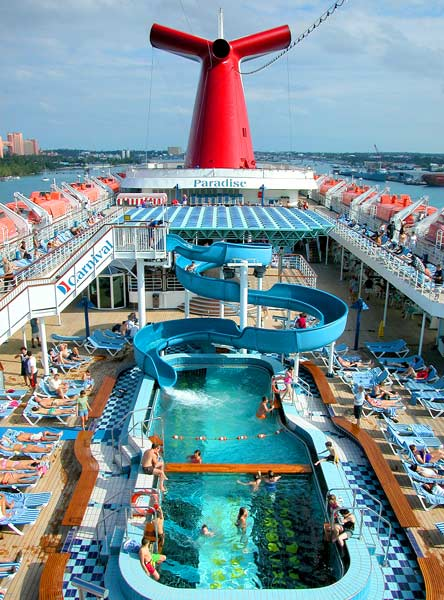 Travels Carnival Paradise Cruise Of The Eastern Caribbean
